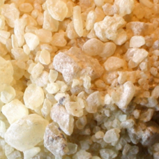Damar Resin. Natural. 1/2 Stone. (7  lbs.)