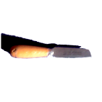 2-1/2-inch Sheepfoot-Point Mill Knife with Round Handle.